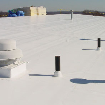 a TPO Roof by Morris and Sons Roofing