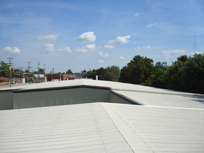 Another Metal Roof Restored By Morris And Sons Roofing